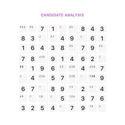 sudoku candidate Sudoku Solve It sudoku