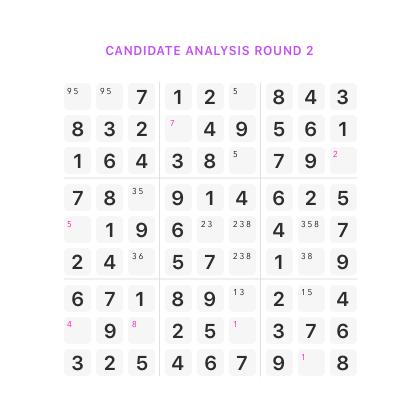 sudoku candidate2 Sudoku Solve It sudoku