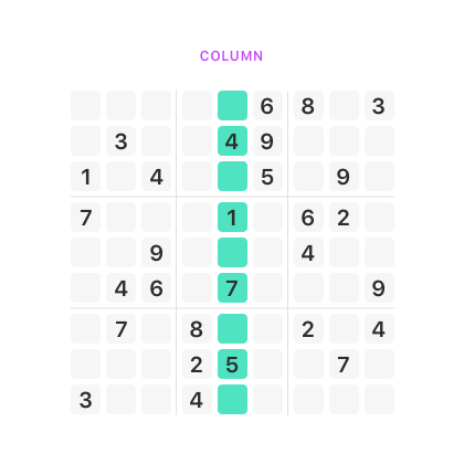 sudoku column Sudoku Solve It sudoku