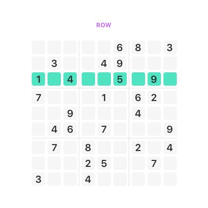 sudoku row Sudoku Solve It sudoku
